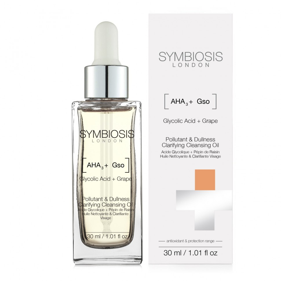 [Glycolic Acid + Grape Seed] - Pollutant & Dullness Clarifying Cleansing Oil - 1