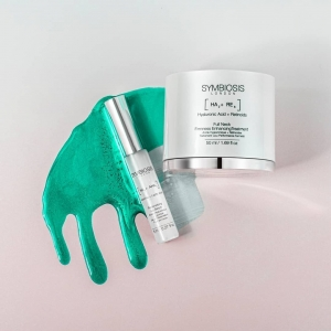 What a powerful duo to have as part of your skincare routine💪  Spotted in the limelight is May's products of the month,  -[Hyaluronic + Lactic Acids] - Redensifying Lip Serum  - [Hyaluronic Acid + Retinoids] - Full Neck Firmness Enhancing Treatment