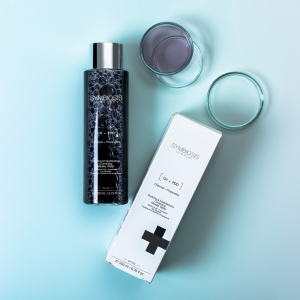 Here we have our [Activated Charcoal + Propanediol] - Purifying & Imperfections Correcting Micellar Water 🖤  Activated charcoal aims to smooth, illuminate and even out the skin.  . . . #micellarwater #charcoal #activatedcharcoal #cleanser #symbiosislondon #symbiosisskincare #skincarescience #skincareroutine #skincareproducts #crueltyfree #skincareinnovation #skincareingredients