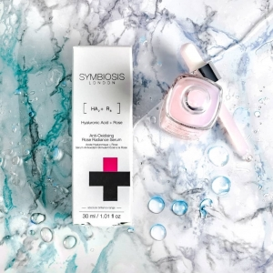 Symbiosis Anti-Oxidising Rose Radiance Serum incorporates powerful ingredients such as Rose, Hyaluronic Acid and Vitamin C that work to support natural skin renewal🌹