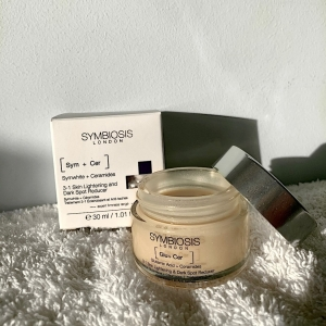 'I am super excited to share this amazing product by @symbiosis_london it's honestly been such a blessing for my skin. it has definitely ☁️brightened my skin ☁️reduced dark areas of my skin & 🤍it smells really good 🤍 the consistency is so smooth' - @polly.nicoleg ✨ . . . #darkspots #pigmentation #skincaretreatment #skincareroutine #localisedskincare #influencerpost #collaboration #skincarereview #symbiosisskincare #productreview #happycustomer #crueltyfreeskincare #cleanbeauty #customerreview #influencer